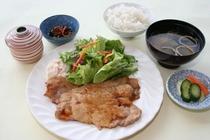 大館さくら豚生姜焼き定食 1,300円
