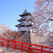 弘前城さくらまつり(当ホテルより約50km)