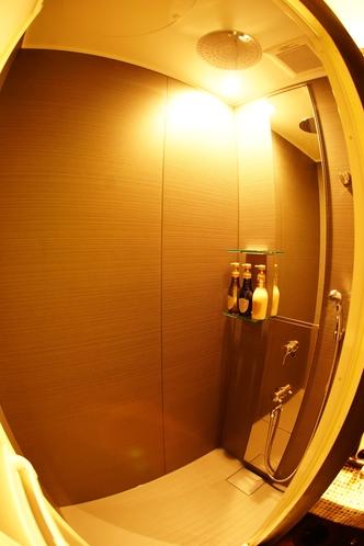 メゾネット「藤」のお部屋のシャワーブース