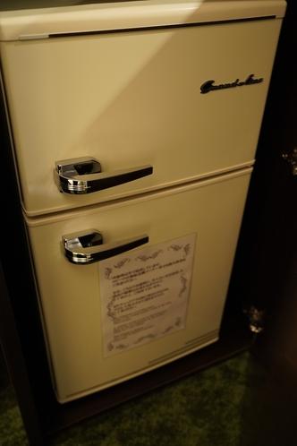 ANNEXの部屋の冷凍冷蔵庫