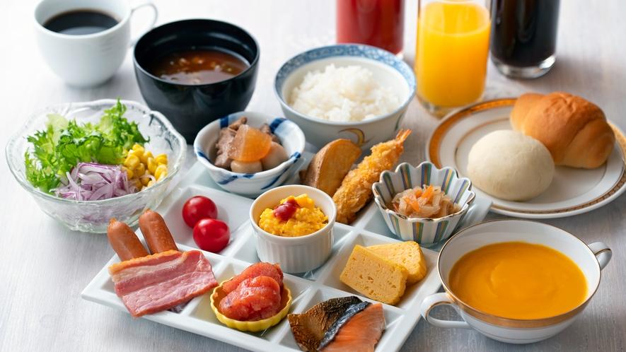 【朝食付きプラン】朝食イメージ01