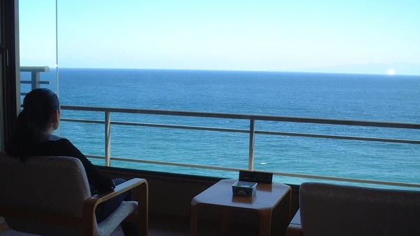 【絶景】和室10帖+広縁、海側客室確約・階数おまかせ