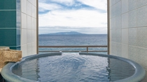 最上階7F/絶景・大島&海を一望出露天風呂付客室和洋室(特別室)お部屋食