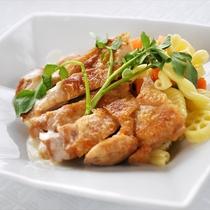 鶏肉の大コンフィ・ヴァン・ブラン
