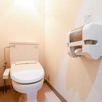 *<和室A>客室用洗浄機付きトイレ
