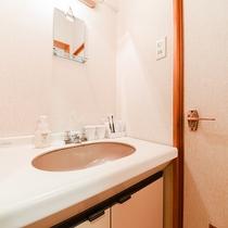 *<和室B>客室用洗面台