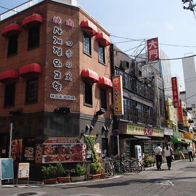 コリアンタウン☆ 当ホテルすぐそば。焼肉屋さんや韓国食材店が軒を連ねています!