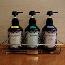 ☆アメニティ☆ シャンプー、コンディショナー、ボディソープをお風呂にご用意しております。
