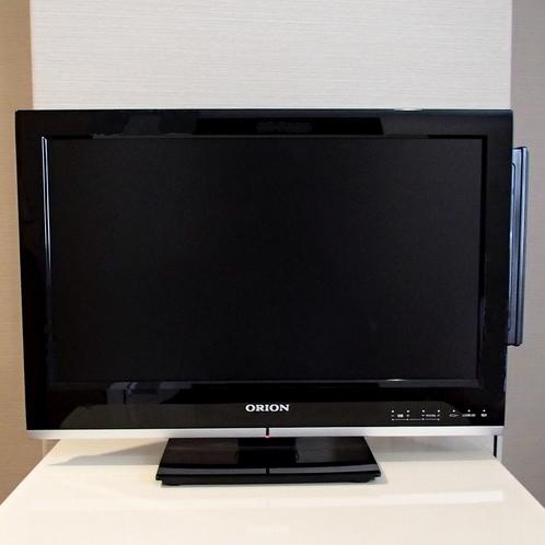 ☆テレビ☆19インチサイズを全室に完備しております☆