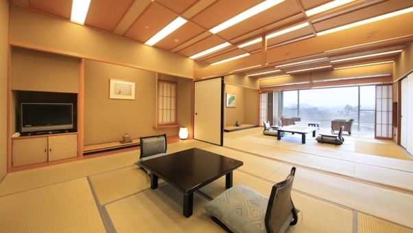 -ラクザン露天風呂付特別室-最上階12.5畳+ツインベッド