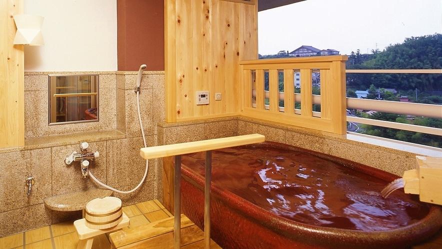 -ラクスイ(楽水)-露天風呂付きタイプ 露天風呂一例