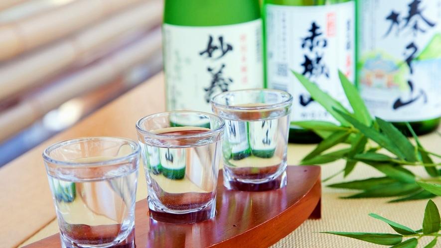 上州の美味しいお酒を取り揃えております