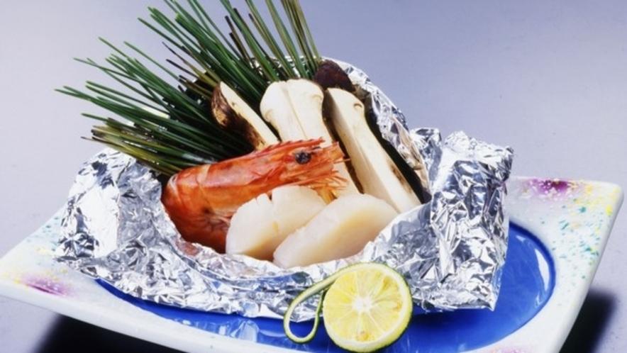 秋季限定別注料理【マツタケのホイル焼き】 ※要事前予約