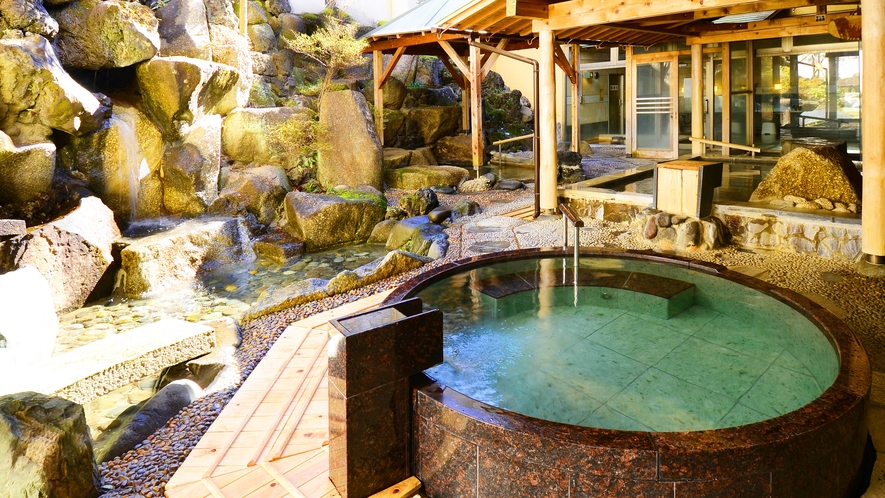 1階【楽水の湯】露天風呂