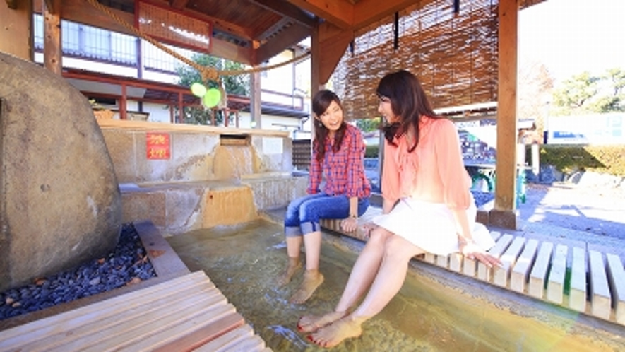 磯部温泉の足湯