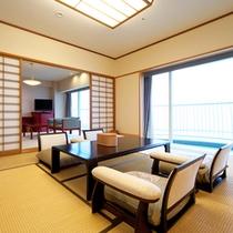 ■エグゼクティブフロア 和室10畳+リビング(和室)