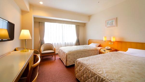 ■ツインルーム【禁煙 23平米 ベッド幅110センチ】