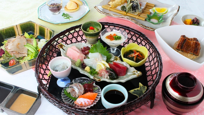 ◆日本料理「四季」で食す!会席料理 雅プラン(2食付)【事前決済限定】