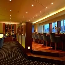 ★メンバーズクラブ/会員制クラブラウンジからは浜松夜景をのぞむ。