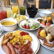 ★1日の活力は洋朝食バイキングでしっかりと…