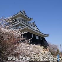 ☆駅からバス約10分の浜松城公園。若き家康ゆかりの出世城は浜松のシンボル!