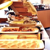 ★レストランベルファサードの朝食バイキング