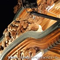 ☆浜松まつり(5月)彫刻の施された御殿屋台