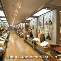 ☆楽器の歴史や体験、試聴ができる浜松市楽器博物館内
