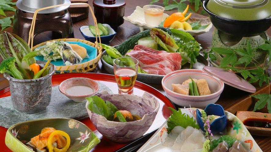■日帰りプラン祝ざるのお料理