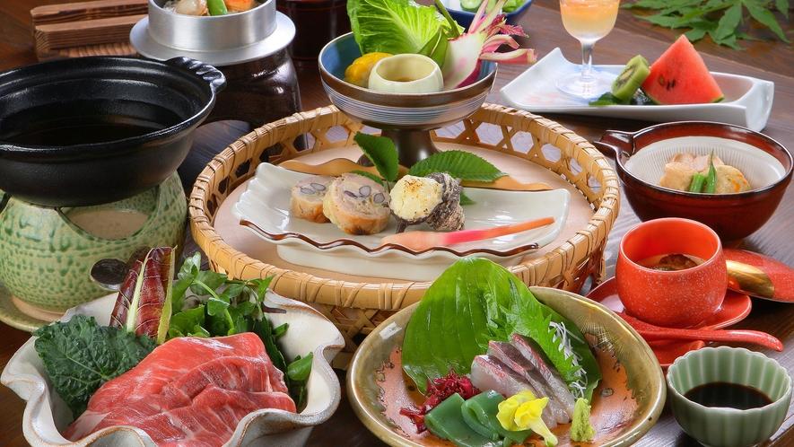 ■日帰りプラン喜ざるのお料理