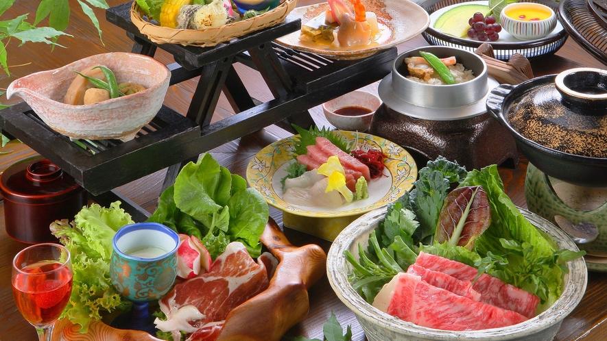 ■日帰りプラン美ざるのお料理