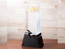 ◆ウェルカムドリンクサービス◆さっぱりとして飲みやすいレモンウォーターををご用意しております◆