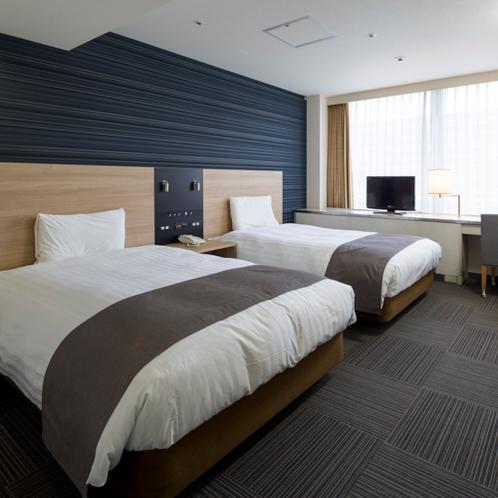 ◆ツインスタンダード◆ベッド幅120センチ◆