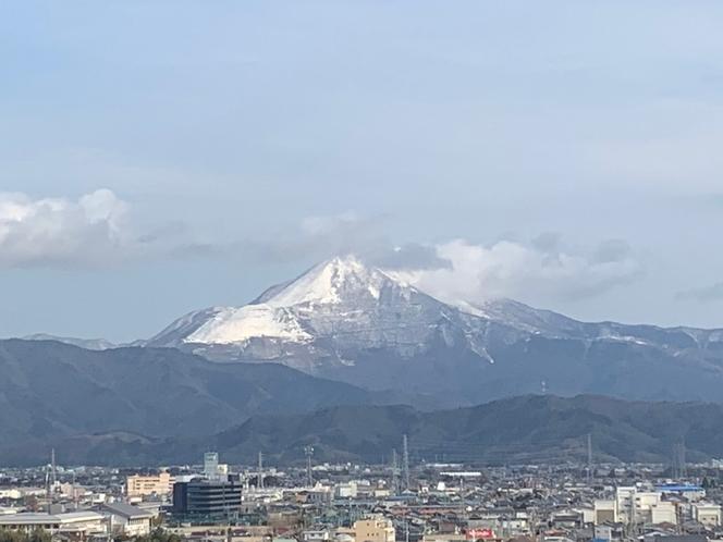 伊吹山 雪景色