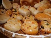 手作りパンを朝食に♪
