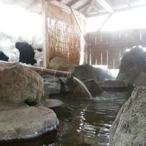 *雪見風呂1