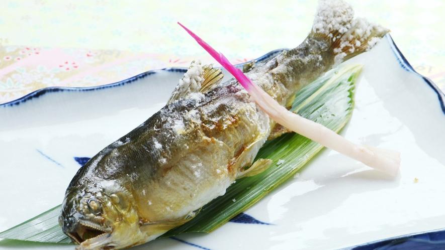 ■【お料理~川魚の塩焼き~】シンプルに素材の味をお楽しみください♪