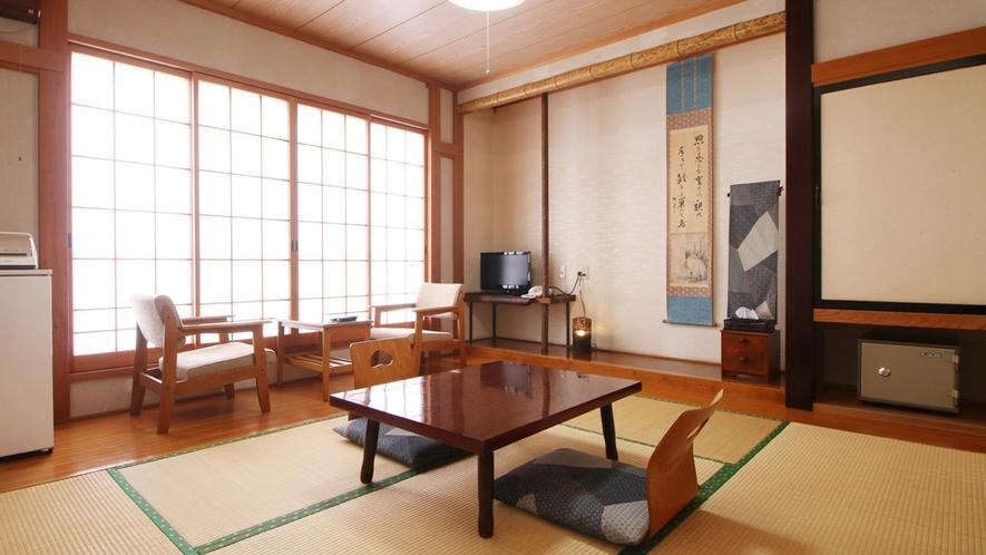 ■【客室】落ち着きのある和室をご用意。全室禁煙となっております