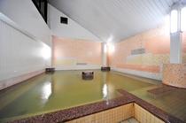 別館の天然温泉(浴槽)