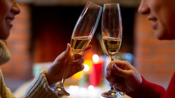 Happy Anniversaryプラン◆記念日や誕生日に◆スパークリングワイン&ケーキ付(朝食付)