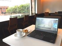 ラウンジ(昼)/カフェの営業時間:14:00~19:00