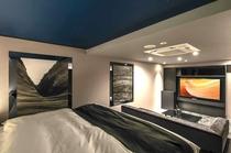 612号室/天井に広がる満天の星空が幻想的。