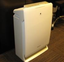 【空気清浄機】全室に加湿空気清浄機を設置しております♪