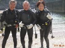 熟年体験ダイビング