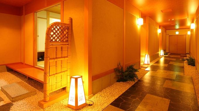 【ふく刺し付き花会席】夕食は個室または半個室のお食事処にて★敷地内に湧く良質な自噴源泉が魅力