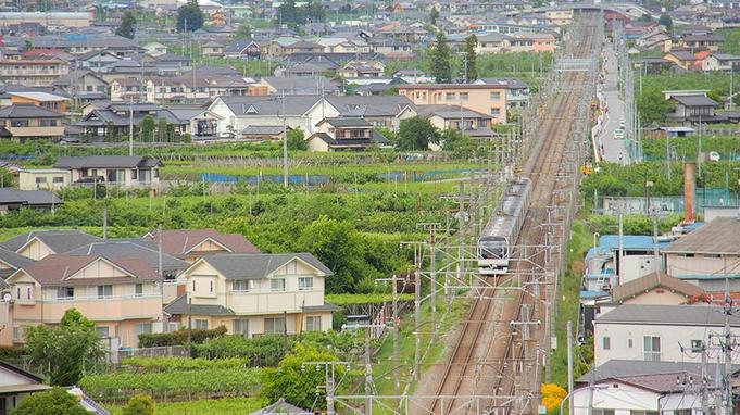 【鉄宿プラン】トレインビュールーム確約★鉄道ファン必見の鉄道&電車の見える温泉宿