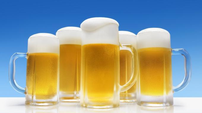 【90分飲み放題】生ビールで乾杯☆夕食はお酒がすすむ心づくしの和会席膳に舌鼓♪