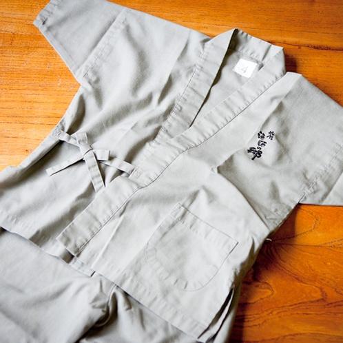 「肌触りがいい!」と評判のオリジナル作務衣