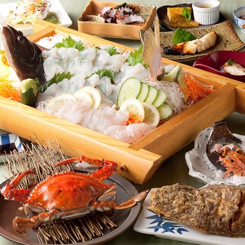 カニ漁の技:天草自慢の旨みが詰まった濃厚な渡り蟹をご賞味下さい。