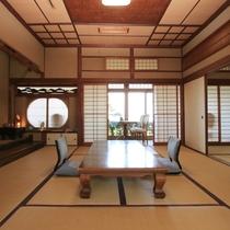 古き良き日本の客間